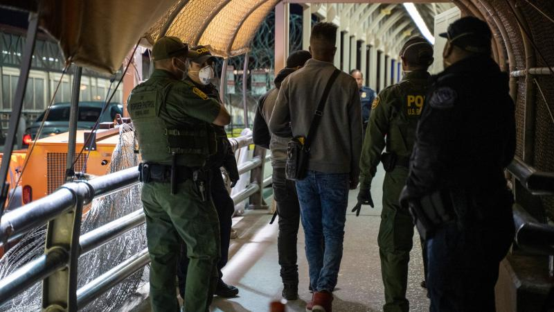 """As immigration courts have been closed due to the coronavirus, COVID-19, pandemic people seeking asylum in Migrant Protection Protocols program, better known as the """"Remain in Mexico"""" policy, are still expected to show up in the dangerous city centre before dawn to receive new dates despite stay-at-home order on both sides of the border."""