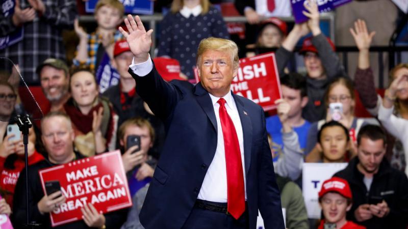 President Trump in 2018