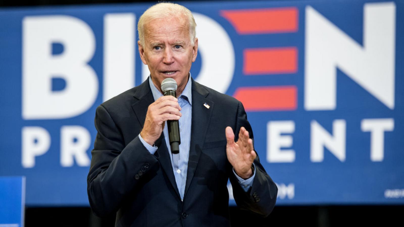 Joe Biden in August 2019
