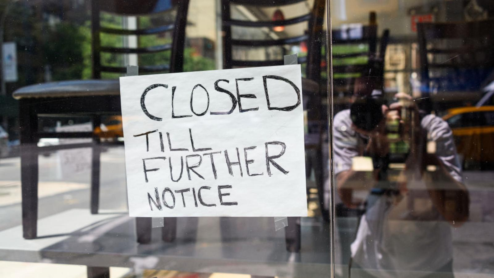 Two Thirds of NY restaurants are closing for good… America creeping closer toward a Venezuela level collapse. (justthenews.com)