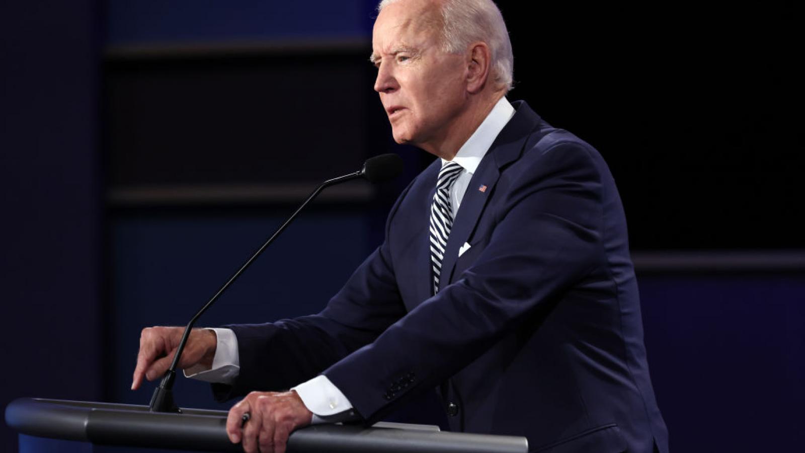 Biden at the first debate