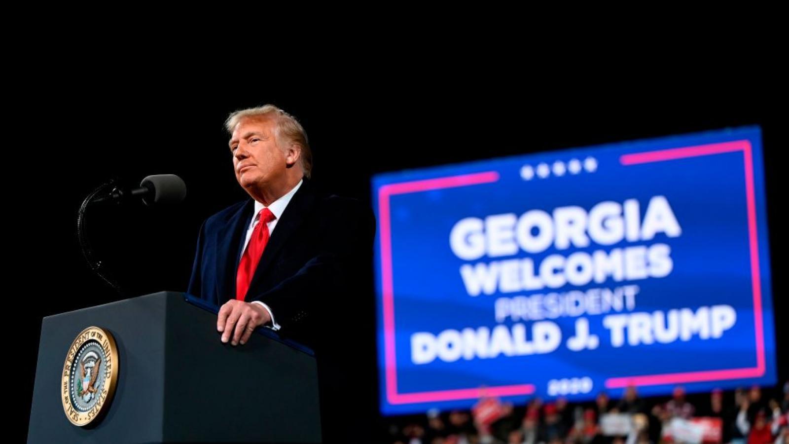 President Trump in Valdosta, GA, Dec. 5