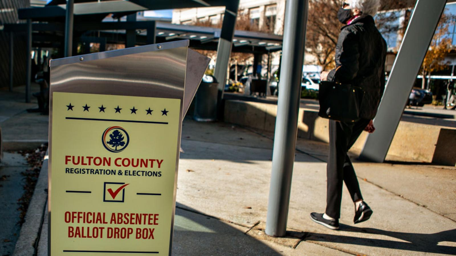 Fulton County voting location