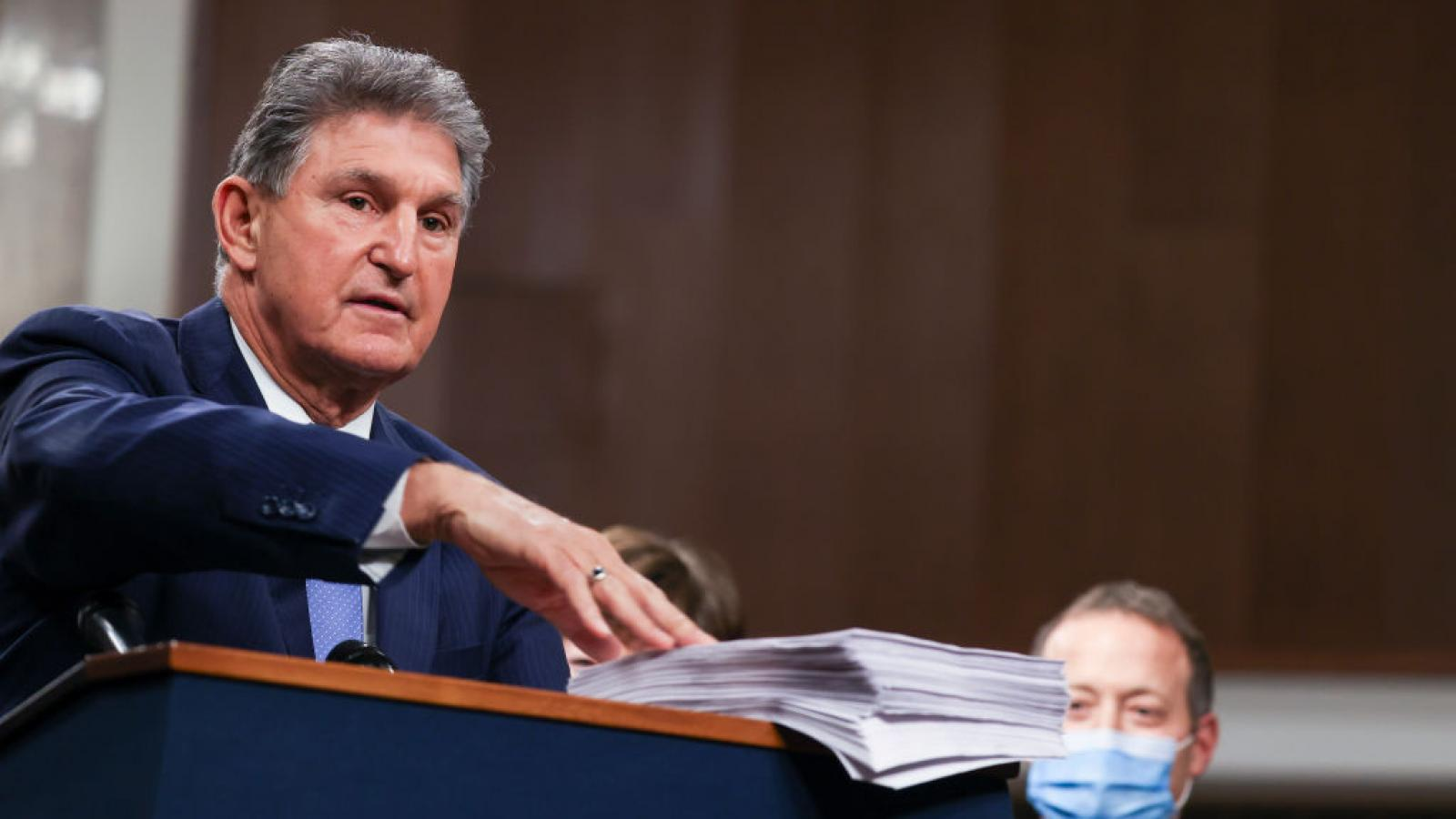 Sen. Joe Manchin in December 2020