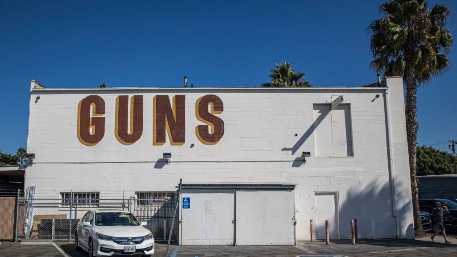 A gun store in Culver City, CA
