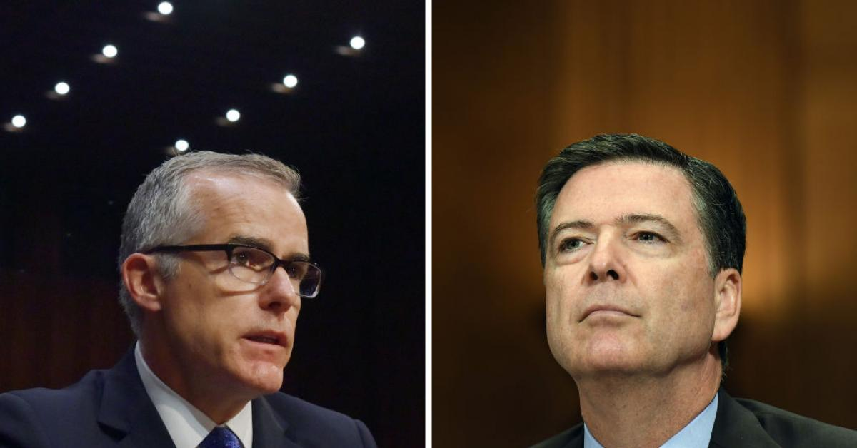 Ex-FBI unit chief blows whistle on Comey, McCabe over warrantless spying