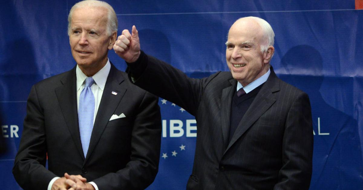 Is Joe Biden The John Mccain Of 2020 Just The News