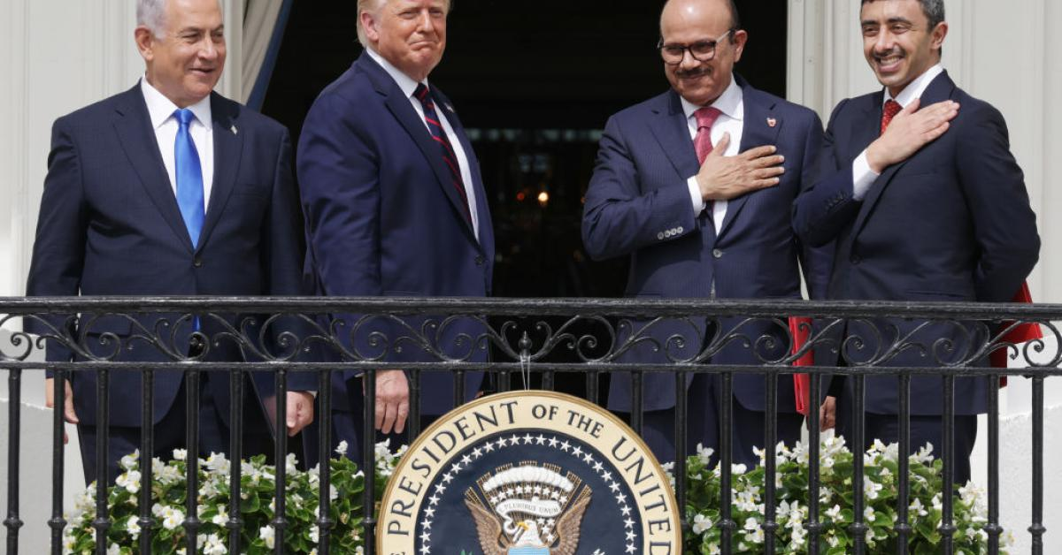 Trump shattered diplomatic norms, rejected establishment to pave way for historic Middle East peace