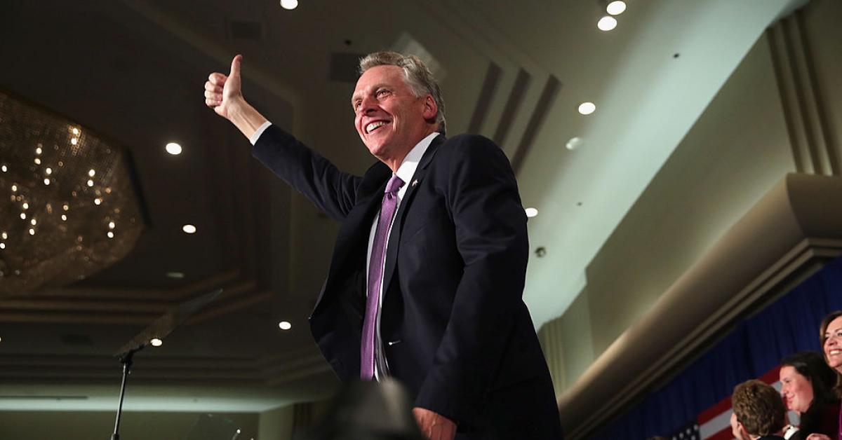 Va. Dem gubernatorial candidate McAulliffe won't reject endorsement from 'defund the police' group