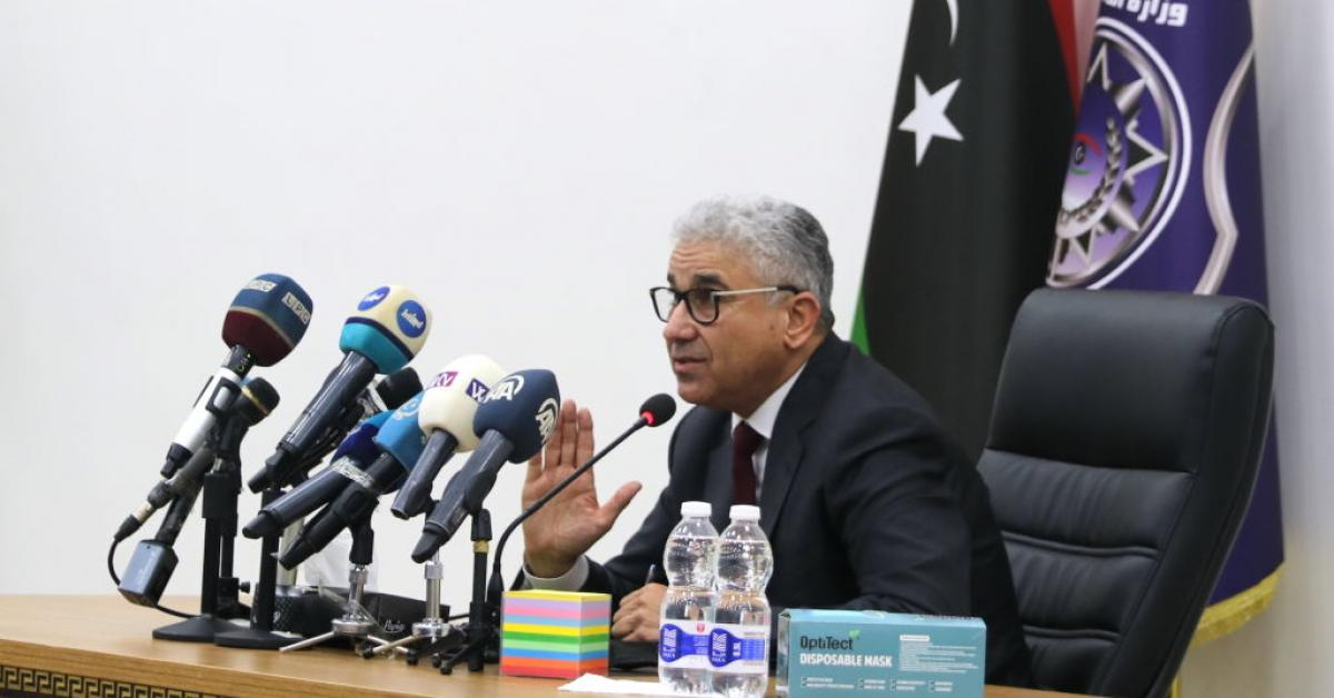 Libyan interior minister survived assassination attempt when his motorcade was attacked