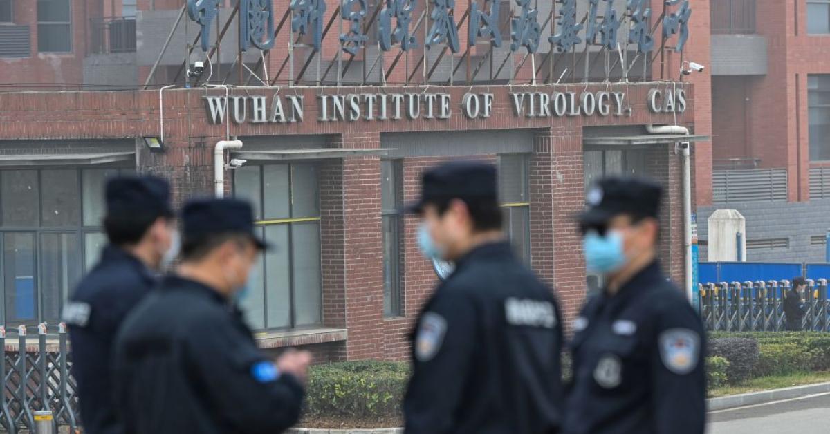 Wuhan Institute of Virology | (Photo by HECTOR RETAMAL/AFP via Getty Images)