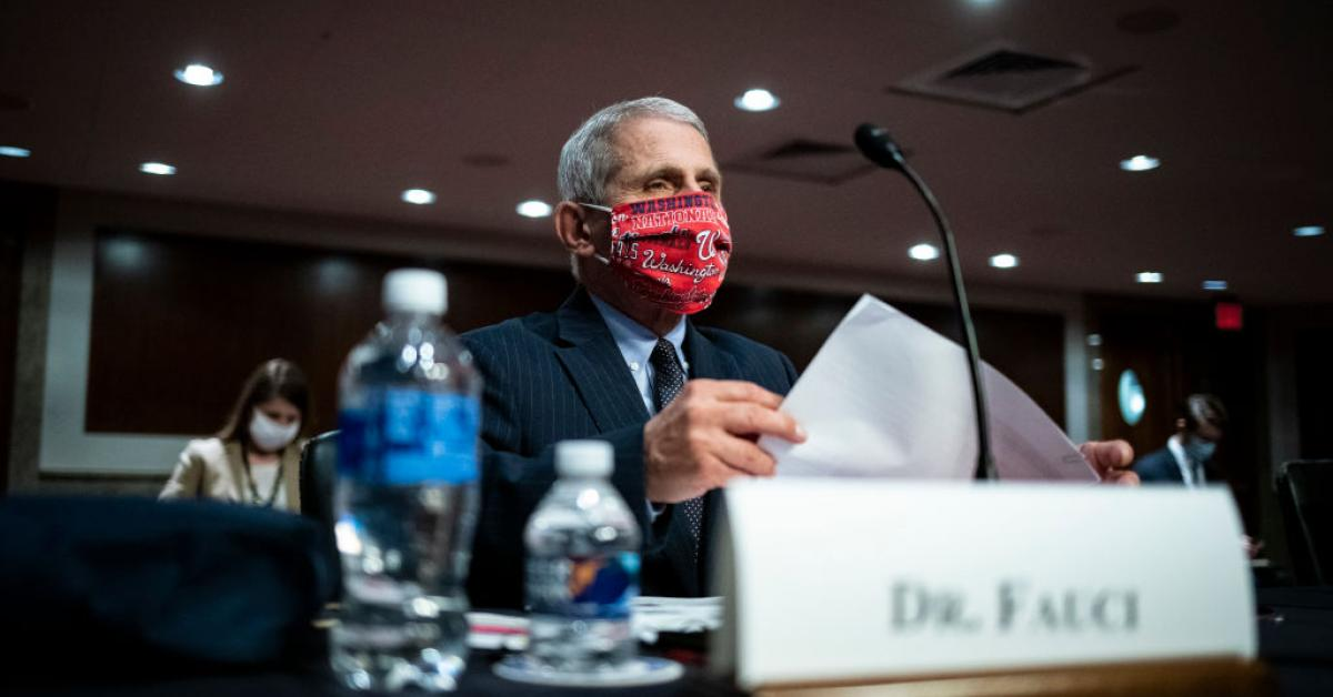 Fauci admits Biden administration is flouting CDC guidance in border facilities
