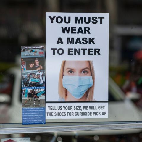 Hundreds descend on Times Square as part of global vaccine protests, point finger at Biden